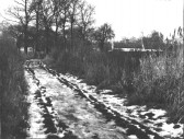 Brickhills path (early 1960s), now part of the Duck Lane estate