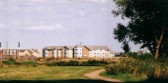 The new Poppyfields Residential Care Flats in Eynesbury on the Eynesbury Manor Estate in 2005.