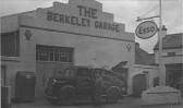Berkeley Garage, Berkley Street, Eynesbury with a breakdown lorry, in 1953