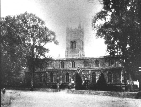 Eynesbury, St Marys Parish Church, around 1905 - 1910