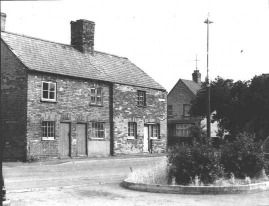 Luke Street and corner of Montagu Street, Eynesbury, around 1955