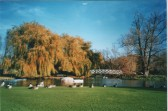 Boating Lake in Riverside Park, St Neots, around 2006