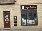 'Sugar Daddy's' - a cake making and decorating shop in Fishers Yard, St Neots Market Square, in July 2010