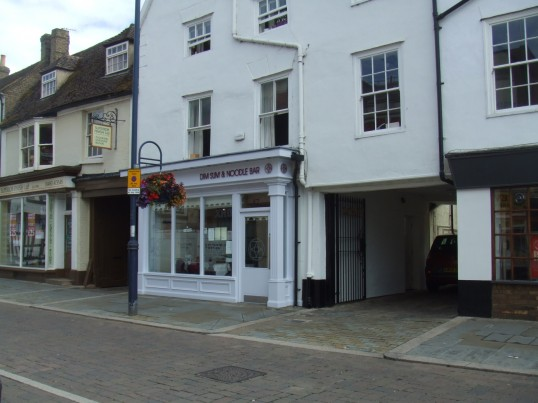Dim Sum Noodle Bar in St Neots Market Square in July 2010