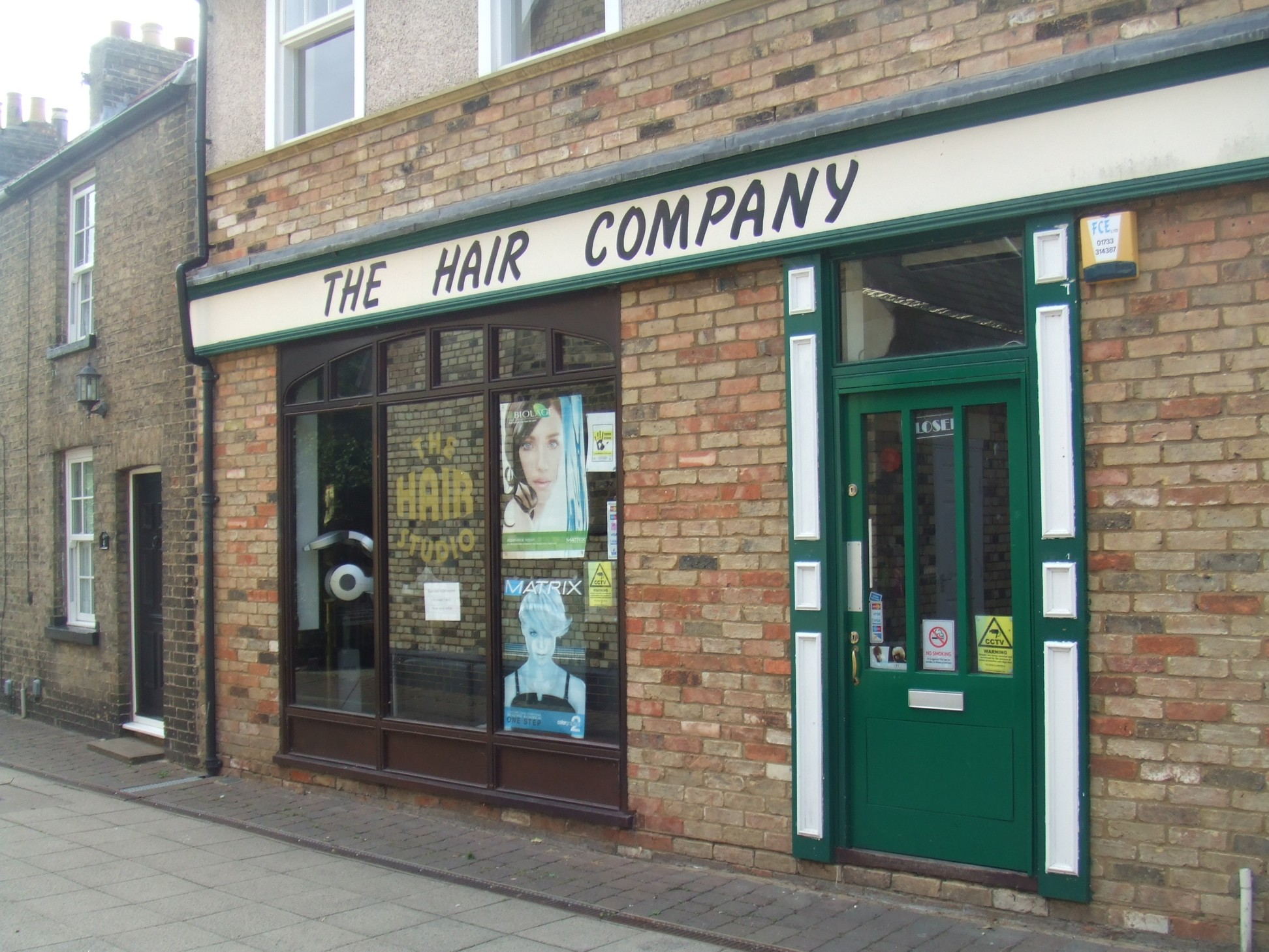 the hair company u2013 in church walk just off st neots high street