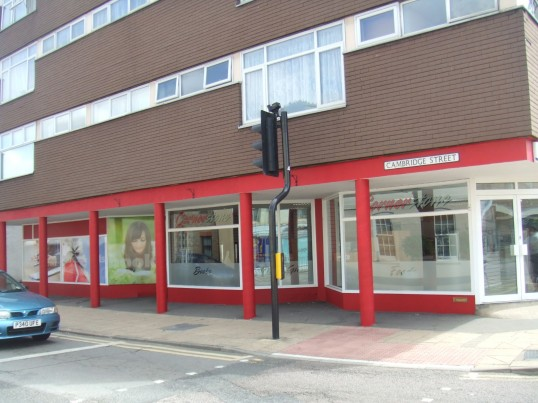 'Cornerstone Café', about to open in Cambridge Street, in former sports shop in July 2010