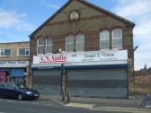 A N Audio shop in Huntingdon Street, in July 2010