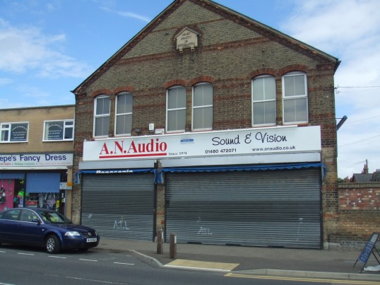 A N Audio shop in Huntingdon Street, in July 2010