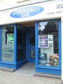 Entertainment Base Shop has just moved to the Market Square, in July 2010, in the former Eynesbury Cleaners shop