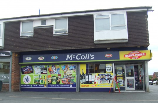 McColls General Stores, Andrew Rd, Eynesbury in July 2010