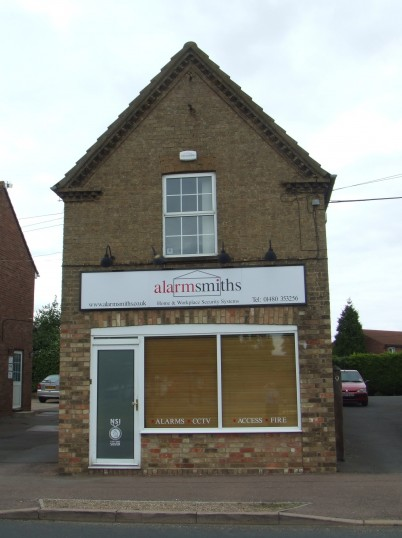 Alarmsmiths Offices, between 8 and 9 Eaton Ford Green, Eaton Ford in July 2010