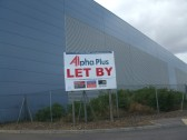 A very large warehouse in Eaton Socon being let in July 2010 after many months of being empty
