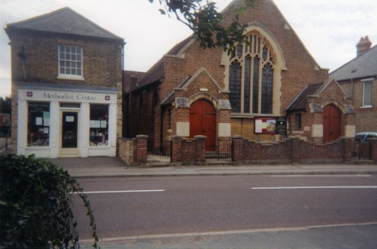 Eynesbury Methodist Church and Centre in Berkeley Street, in September 2010