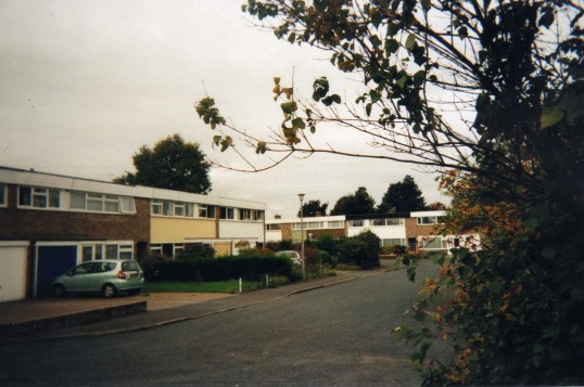 Ouse Rd and Brook Rd in Eaton Ford in October 2009