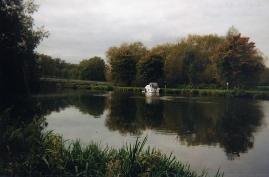 River Great Ouse scene in September 2009
