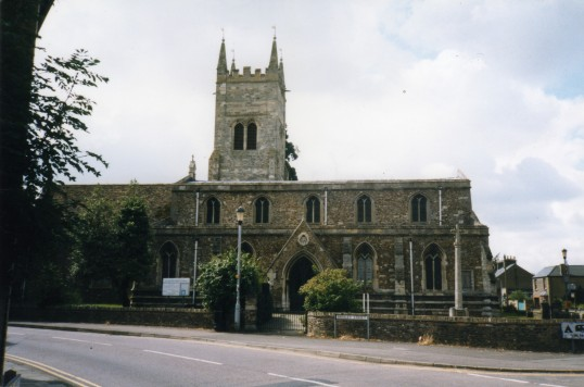 Eynesbury, St Marys Church, in July 1998