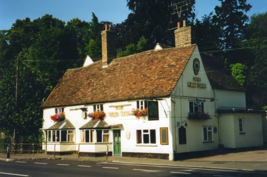 The Old Sun on the Great North Rd at Eaton Socon in July 2000