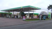 BP Garage, former Texaco garage on the Great North Rd in Eaton Socon in November 2010