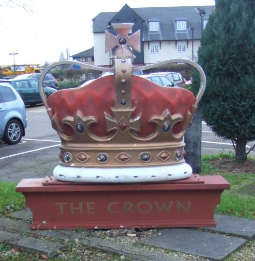 The Crown at The Crown, 1 Great North Rd in Eaton Socon in November 2010