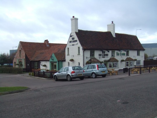 The Crown, 1 Great North Rd, Eaton Socon, after refurbishment in October 2010