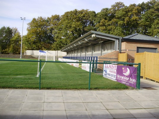 St Neots Football Ground on the Loves Farm Estate in October 2010 (P.Ibbett)