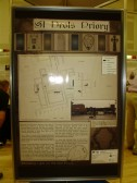Part of the St Neots Priory Display at the History Day in the Priory Centre in St Neots in September 2010 (P.Ibbett)