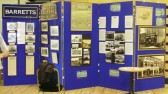 Barrett's display at the History Day at St Neots Priory Centre in September 2010 (P.Ibbett)