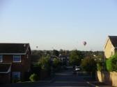 Hot air balloons over Eaton Ford in September 2010 (P.Ibbett)