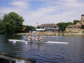Racing in the Annual Regatta in St Neots on the River Great Ouse in July 2010 (P.Ibbett)