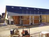 Eatons Community Centre in Eaton Ford under construction, in September 2009 (P.Ibbett)