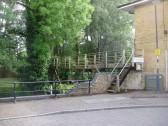 Gill Footbridge across Henbrook at Brook Street in St Neots in June 2009 (P.Ibbett)