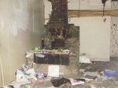 Derelict forge in former Ibbetts business in Brook Street, St Neots (just off South Street) in April 2009 (P.Ibbett)