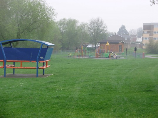 Hen Brook play area in Eynesbury (P.Ibbett)