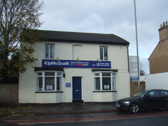 Kip McGrath Centre in 31 St Neots Rd, Eaton Ford, in November 2010 - having recently moved from Eaton Ford Green