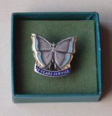 15 years Long Service Brooch for Samuel Jones & Co Ltd Paper Mill at Little Paxton