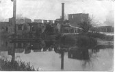 After the fire at the Paper Mill at Little Paxton in 1912