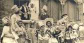 Fancy Dress party in East Street, St Neots on Coronation Day in 1953