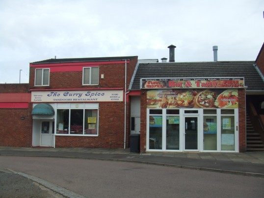 Curry Spice Restaurant and Hot and Tasty Take-away in Longsands Rd, St Neots in August 2011