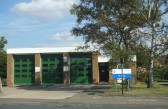 Ambulance station in Huntingdon Street, St Neots in August 2011