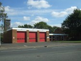 Fire Station in Huntingdon Street, St Neots in August 2011