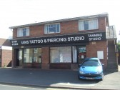 Ian's Tattoo and Piercing Studio in Cambridge Street, St Neots, in August 2011