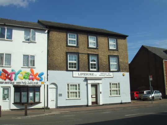Lifesure Offices in New Street, St Neots in August 2011