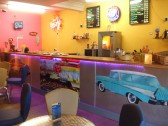 Amuseworld cafe area, 25 Market Square, St Neots in Sep 2011