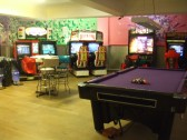Amuseworld arcade games, 25 Market Square, St Neots in September 2011