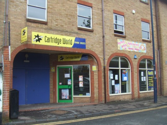 Cartridge World in Priory Lane, St Neots, closed September 2011