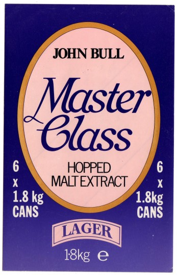 Advert for John Bull Hopped Malt Extract made in St Neots at Paines brewery in St Neots Market Square in the 1990s