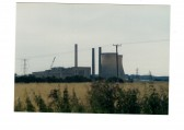 Little Barford Power Station in 1989, before the towers were blown up
