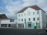 Beales shop in St Neots High Street, in October 2011, formerly Westgate Stores, part of the Co-op chain of shops