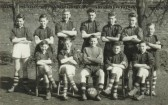 St Neots Church of England School for Boys school football team 1957-1958, photo from Oscar Chuter