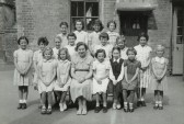St Neots Church of England School for Girls School Photo, about 1957 (photo from Oscar Chuter)